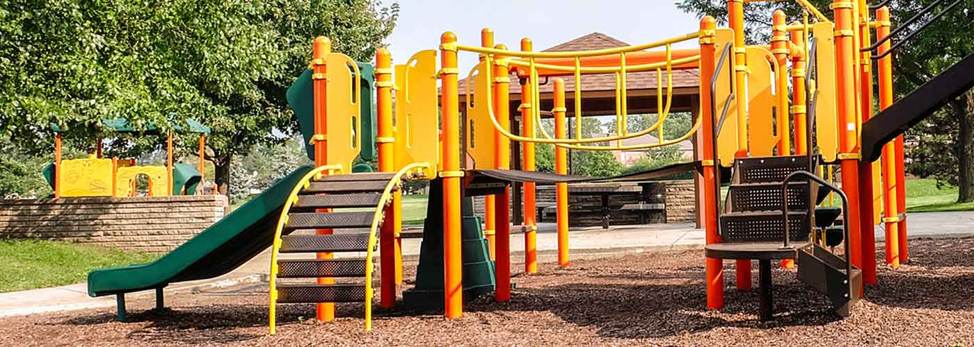 Wood Fibre Playground Surface